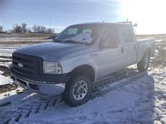 2006 Ford F250 4x4 Crew Cab Pickup (INOPERABLE)