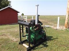 John Deere 6068T Diesel Industrial Power Unit