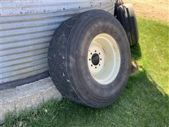 Michelin 445/65R22.5 Tire & Rim