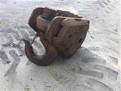 McKissick 30-Ton 410 4-Sheave Hook Block