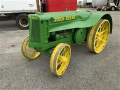 1937 John Deere A AOS 2 Cylinder Narrow Orchard Special Tractor