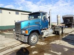 2009 Mack CHU613 T/A Day Cab Truck Tractor