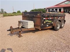 2004 H&H DB12 T/A Dump Trailer