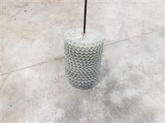 White 852436 Small Corn Plates