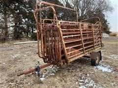 Daniels Portable Loading Chute And Coral