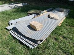 Corrugated Steel Sheeting