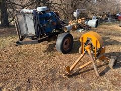 Ford 300 Power Unit & Booster Pump On Cart