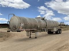 2013 Troxell 407 T/A Crude Oil Tanker Trailer