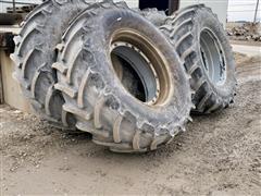 Mitas AC65-650/65 R38 Floater Tires On RoGator Rims