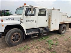 1988 International 1754 S/A Crew Cab Service Truck