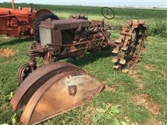 1937 Case CC 2WD Tractor