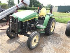 2003 John Deere 4510 2WD Compact Utility Tractor