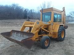 1980 John Deere 410D 2WD Loader Backhoe