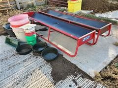 B&W Feed Bunks, Tubs, Buckets & Heider R Feed/Auger Wagon