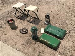 Coleman Campstoves, Camp Stools, Lanterns