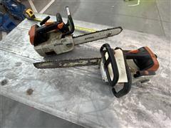 Stihl MS200T & MS201T Chainsaws