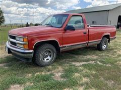 1998 Chevrolet GMT-400 C1500 Silverado 4x2 1/2 Ton Pickup