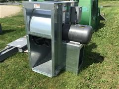 Sioux Steel 15 HP Single Phase Centrifugal Fan