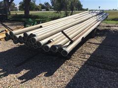 Aluminum Irrigation Pipe And Trailer