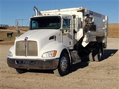 2009 Kenworth T370 S/A Mixing Feed Truck