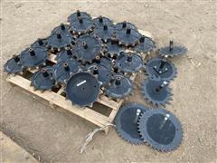 John Deere 1990 Drill Closing Wheels