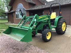 2012 John Deere 4320 Utility Tractor