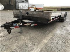 2012 H&H T/A Flatbed Trailer