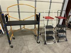Peligro Scaffold & Costco Ladders