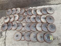 John Deere Cast Air Seeder Press Wheels