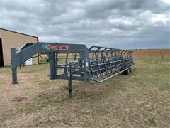 Western Innovations Inc Hay Ride V Bale Trailer