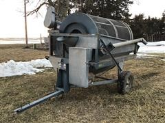 Neco 200 Bu Dual Stage Rotary Grain Cleaner