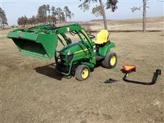 2006 John Deere 2305 FWA Utility Tractor W/John Deere CX 200 Loader