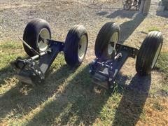 2 Sets Of Gauge Wheels