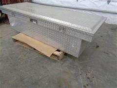 DeeZee Aluminum Bed Rail Tool Box