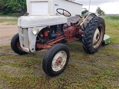 1949 Ford 8N Compact Utility Tractor W/Rotary Mower