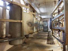 Beco Double 6 Milking Stalls & Feeders