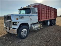 1987 (Titled As A 2003) Ford (Assembled) LTL9000 Tri/A Grain Truck