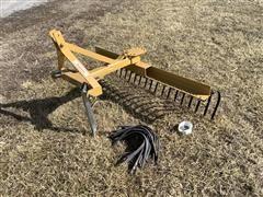 King Kutter TYR-72-YK Yard Rake