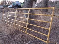 Baasch 14' Steel Corral Gate