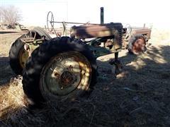 John Deere A & B Tractors For Parts