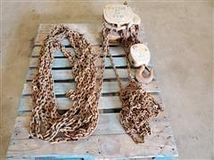 Budgit 5-Ton Chain Hoist & 1.5-Ton Hoist