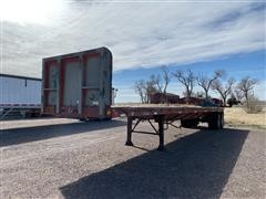 1981 Fontaine T/A Flatbed Trailer