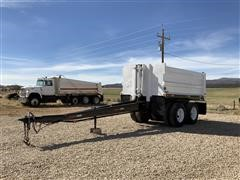 1985 Williamsen T/A End Dump Pup Trailer