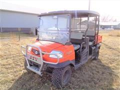 2011 Kubota RTV1140CPX 4 Passenger 4X4 Utility Vehicle