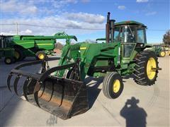 John Deere 4630 2WD Tractor W/Loader