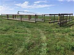 Freestanding 40' Livestock Fence Panels