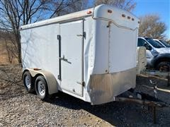 2001 Haulmark 12' T/A Enclosed Trailer