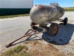 1952 Columbian Steel Portable Propane Tank