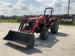 Mahindra 4540 4WD Compact Utility Tractor W/Loader