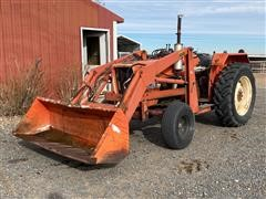 1980 Allis-Chalmers 5040 2WD Tractor W/Loader